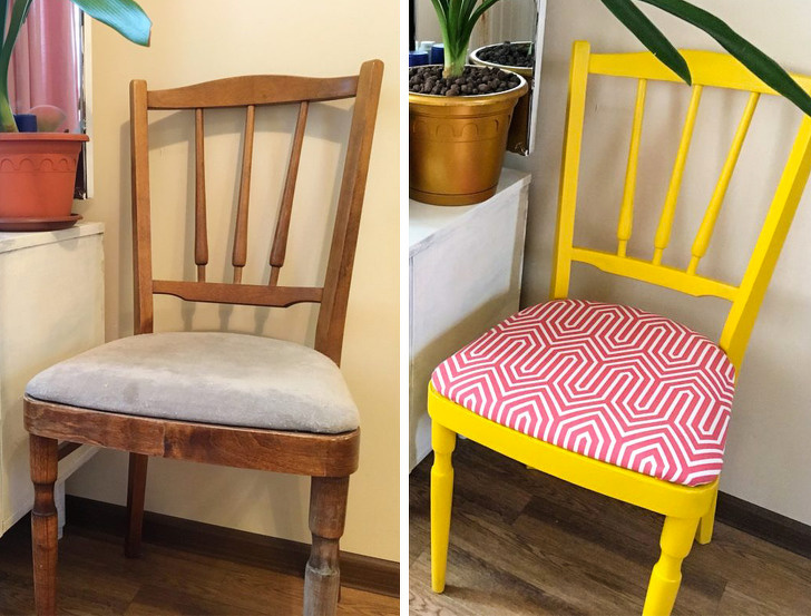 14 блестящи варианта за прекрояване на стари мебели, за да спестите пари от закупуване на нови