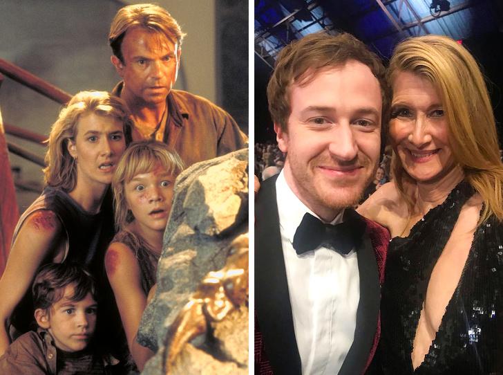 20+ актьори, които се събраха отново със своите сценични колеги много години след снимките