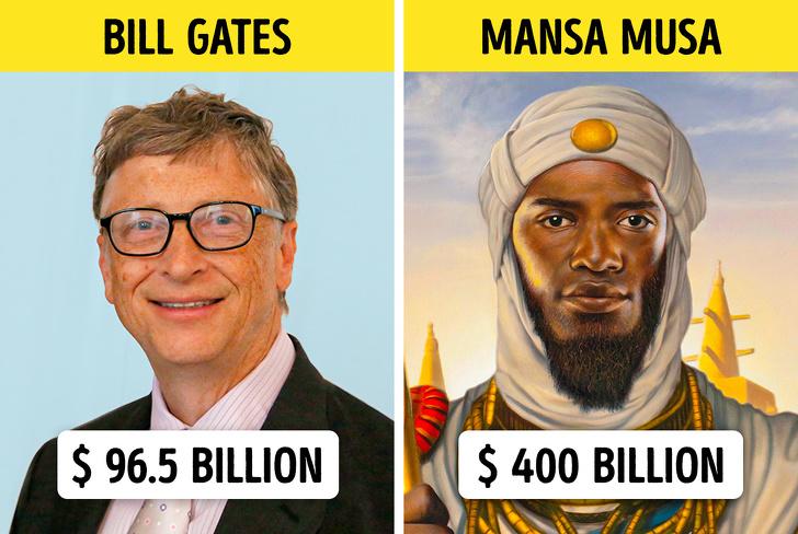 10 богати хора от миналото, заради които съвременните милиардери изглеждат малки