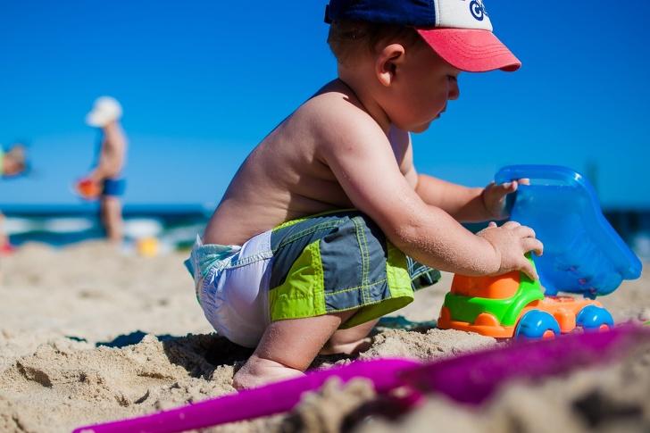 Италианска болница е създала плаж за забавление на хоспитализирани деца