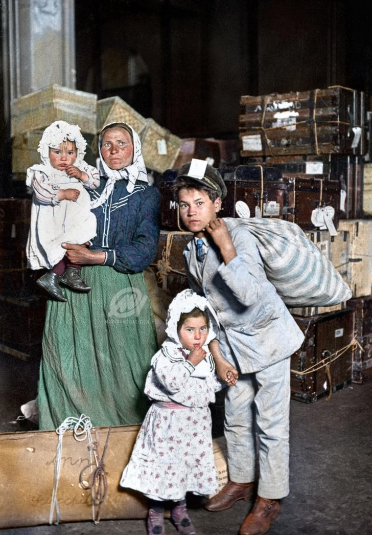 20 оцветени исторически снимки, които показват какъв беше светът преди 100 години