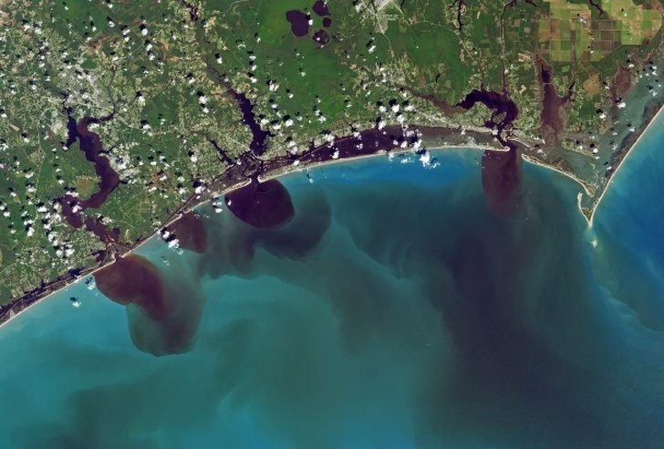 19 неща, които всъщност се виждат от космоса, сега можем да видим как нашите действия са променили Земята