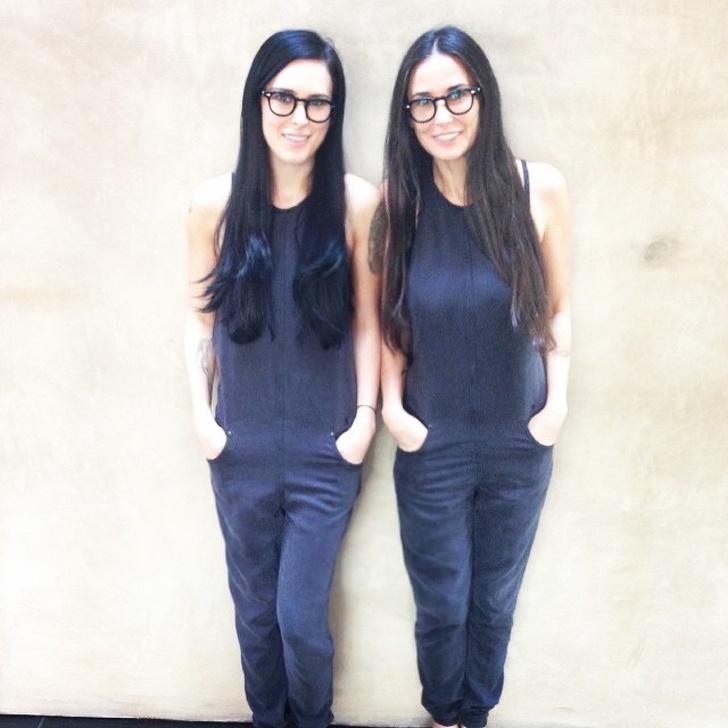 15 знаменитости, които могат да гледат децата си, сякаш гледат отражението си в огледалото