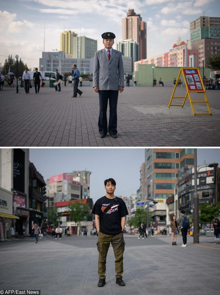 Фотографът показа на света приликите и разликите между Северна и Южна Корея. И те са в състояние да впечатлят