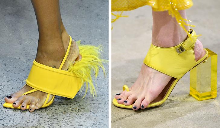 15 най-странни неща от подиумите на 2018 г. (Спойлер: този път всички ще станат част от haute couture)