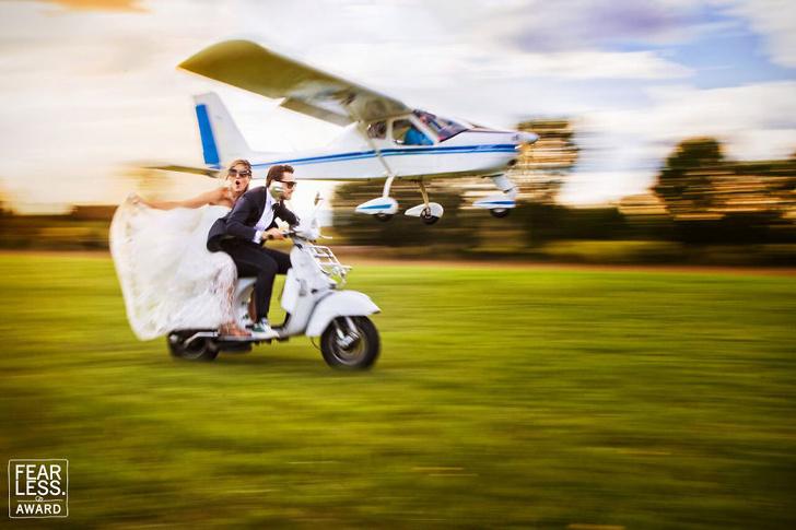 17-те най-добри сватбени снимки на 2018 г., които гледате в един момент