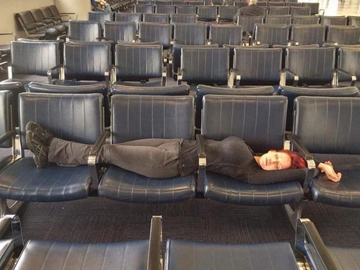 18 снимки, доказващи, че летищата са луди места, където всичко може да се случи