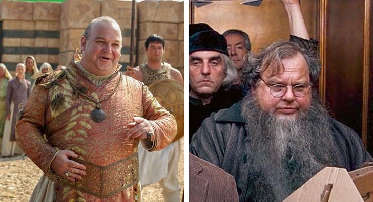 """12 актьори на """"Игра на престоли"""", които участваха в """"Хари Потър"""" и не забелязахте"""