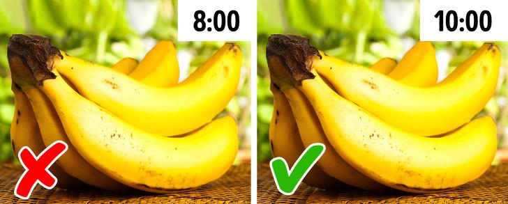 12 храни, които могат да навредят, ако ги ядете в неправилен момент