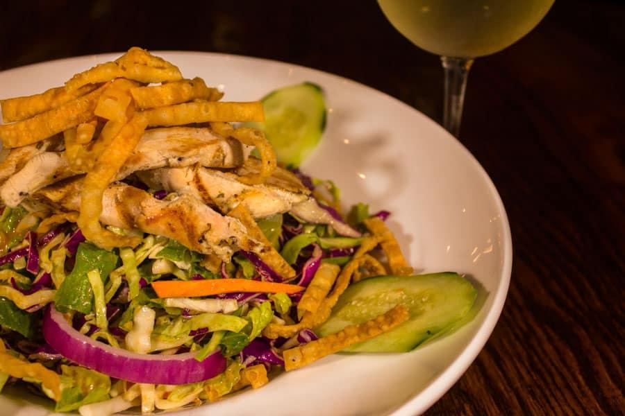 Oriental Chicken Salad - The Creek Patio Grill Cave Creek Arizona 900px