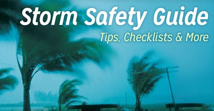 19 July Storm Safety Guide Photo