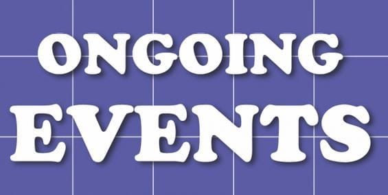 19 Aug Ongoing Events