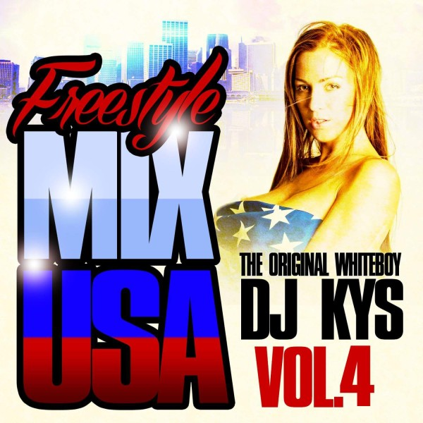 Freestyle Mix USA Vol. 4 Front