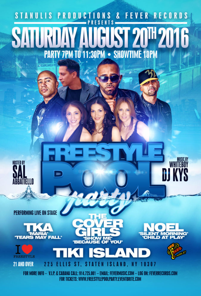 freestyle pool party a