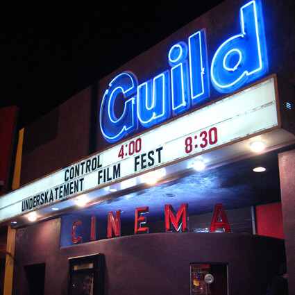 Watch interesting and exciting films at the Guild Cinema