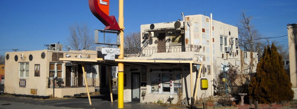 The Aztec Motel on Route 66 in Nob Hill in Albuquerque