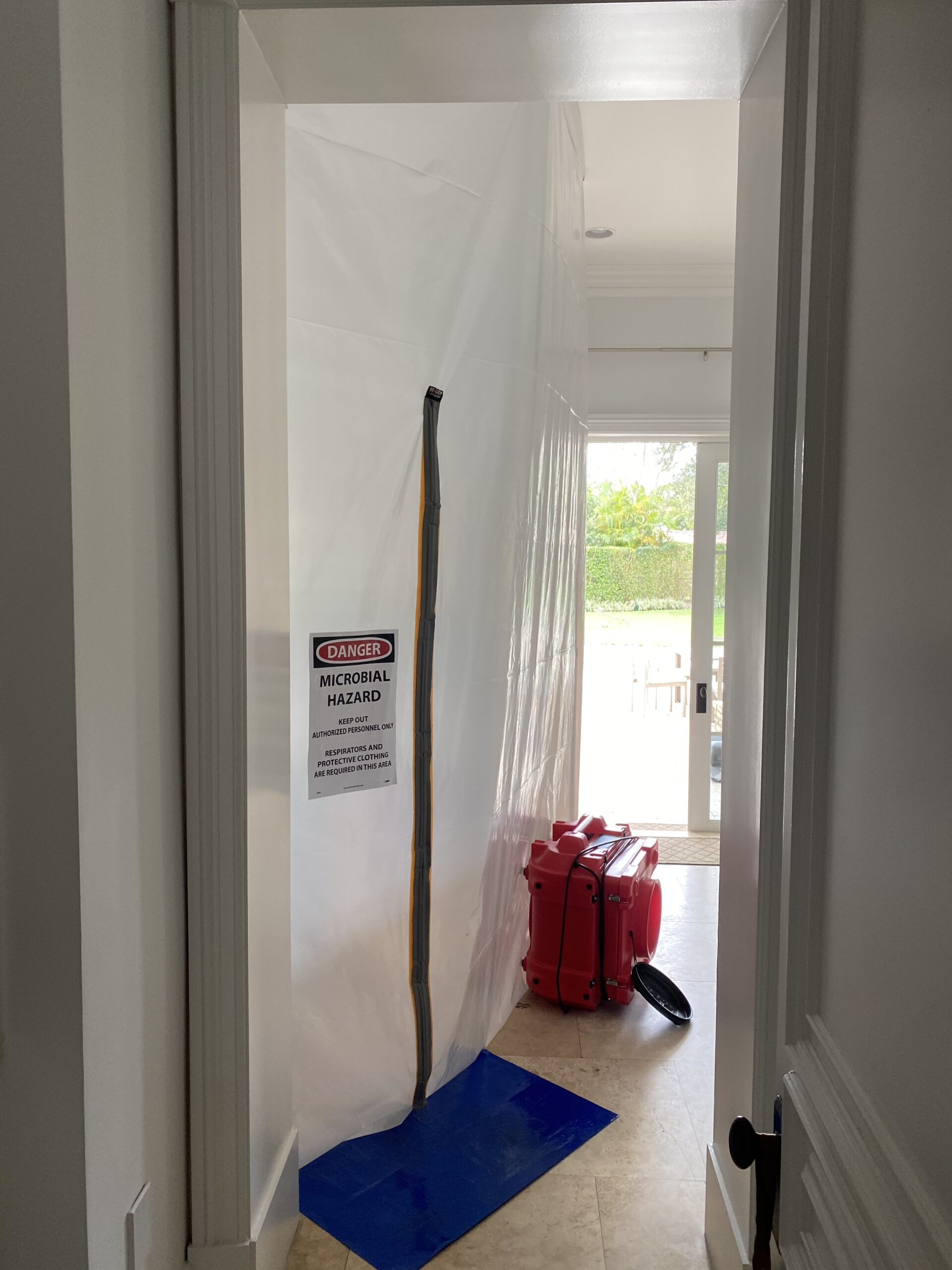 Zipwall Water Damage Emergency Service Containment leak detection