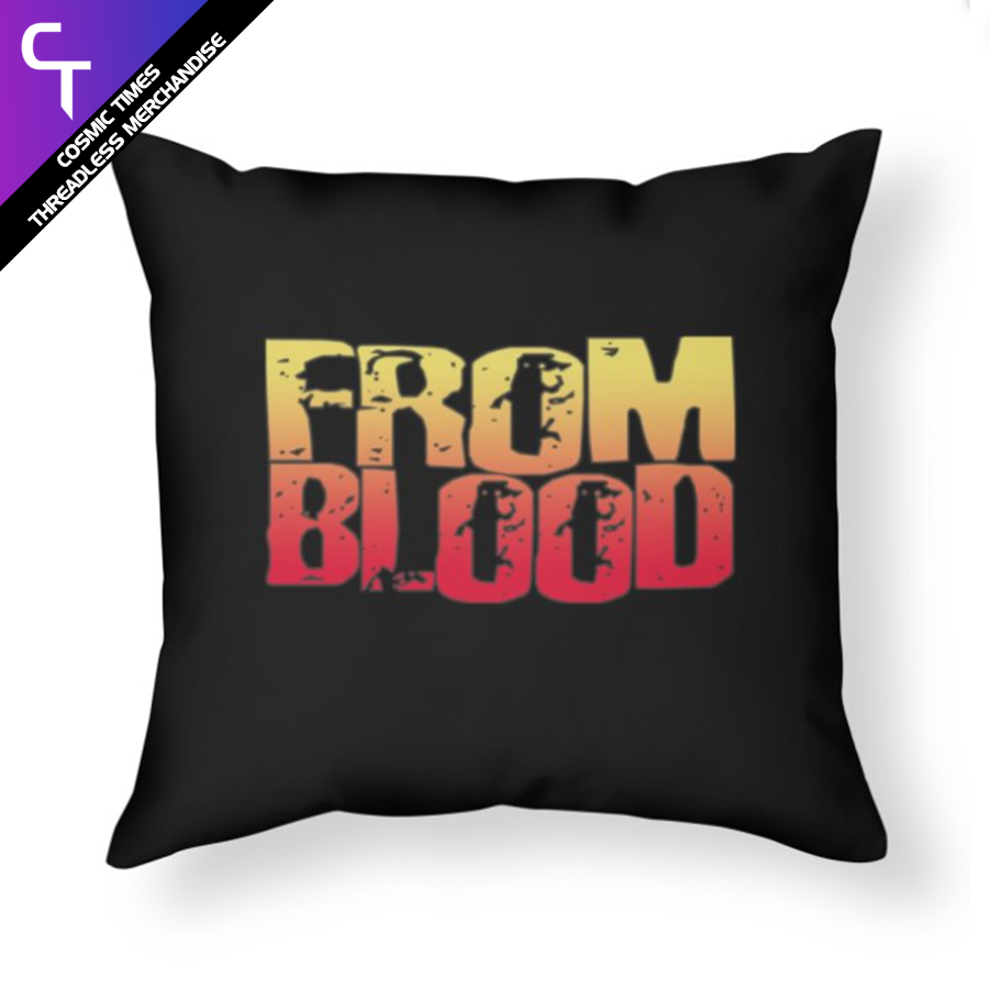 From Blood Logo Pillow
