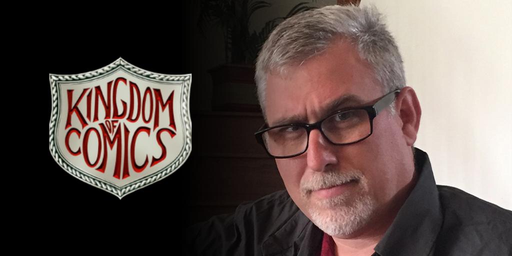 Martin Pierro at Kingdom of Comics