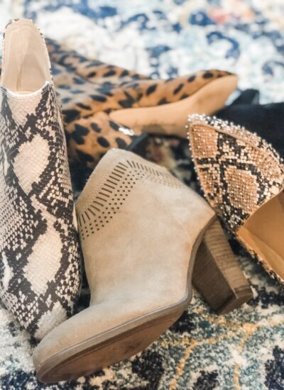 My Favorite Fall Booties & Flats