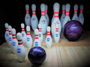 Ball Bowler Mini Bowling Pins