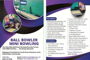 Ball Bowler Promotional Flyer