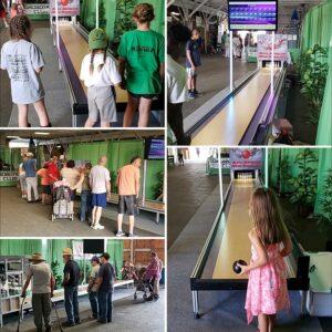 Ball Bowler Mini Bowling at Orleans County 4H Fair 2019