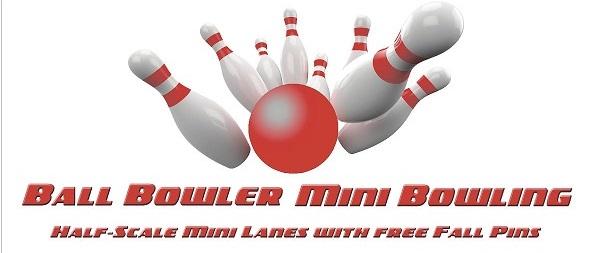 Ball Bowler Mini Bowling Company Banner
