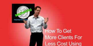 How To Get More Clients for Less Cost Using Social Media - Tony Rays Marketing On A Dime Real Estate Series Class 3 Session 1