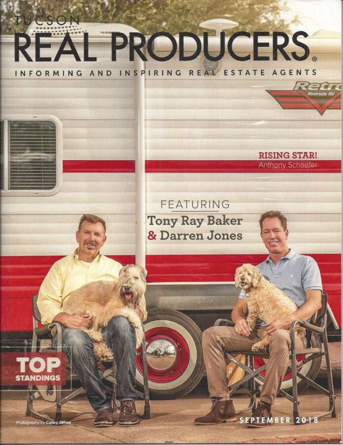 Tony Ray Baker and Darren Jones in Real Producers September 2018