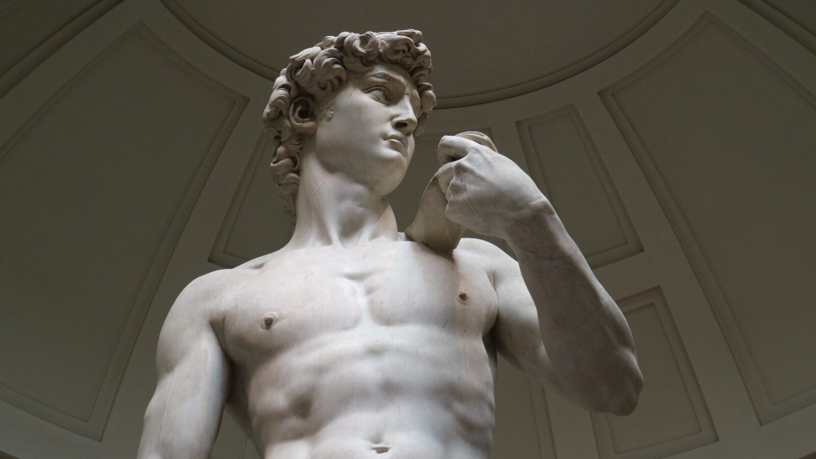 David Statue - Roman Marble Statue - male naked