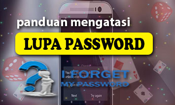 mengatasi lupa login id dan password