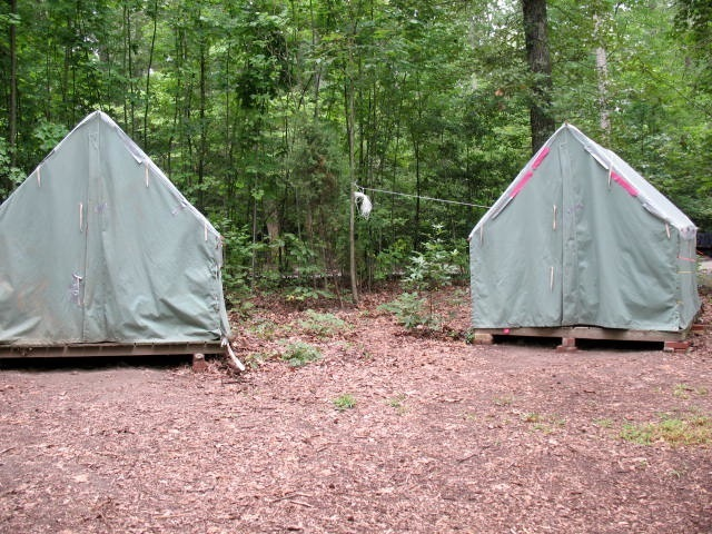 Old Camping Tents
