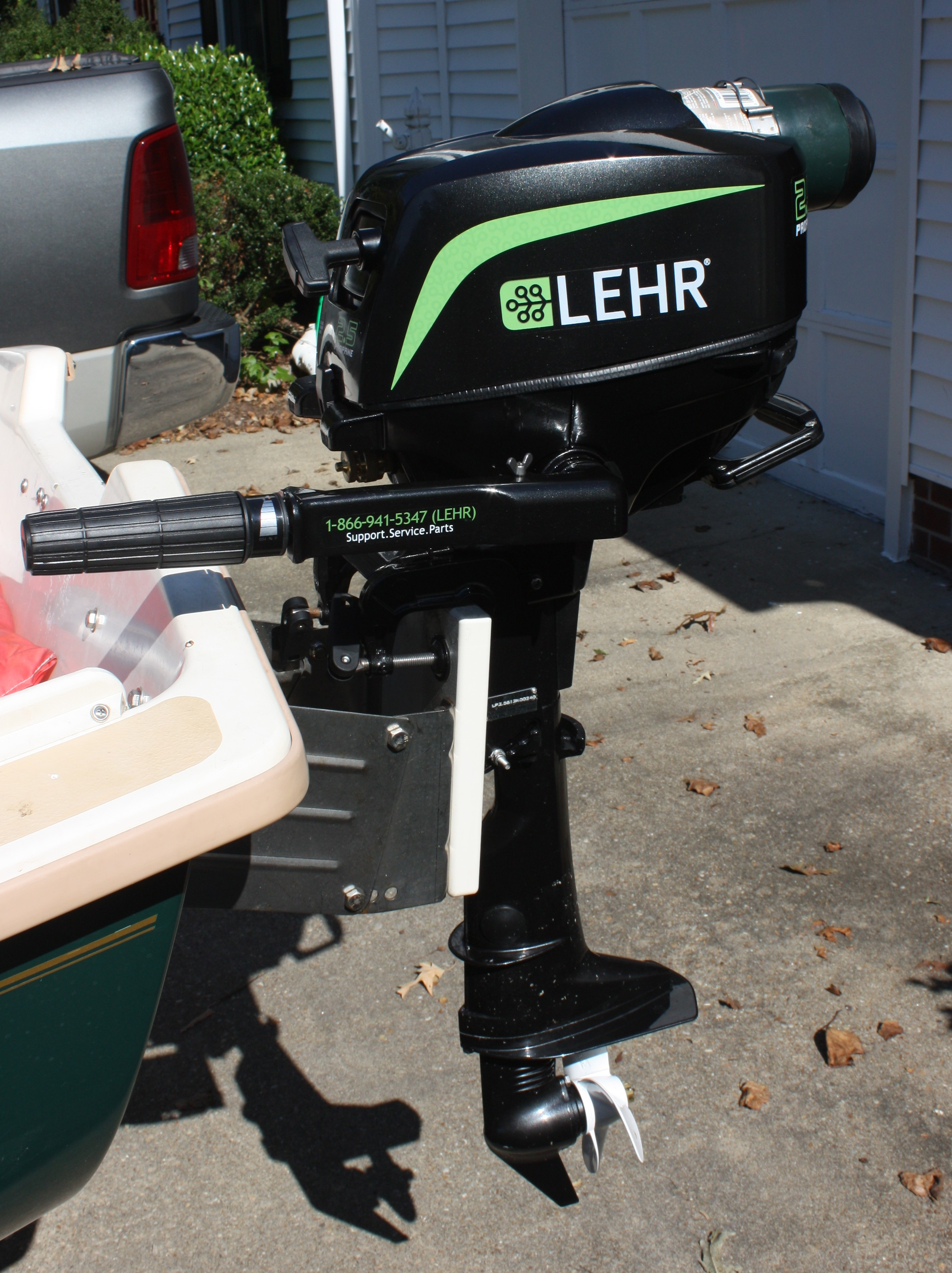 LEHR 2.5 Outboard Review