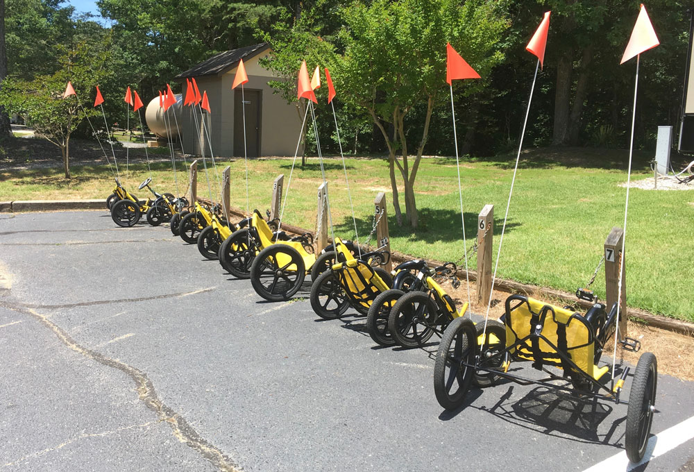 Williamsburg KOA Tricycle Rentals Trikes