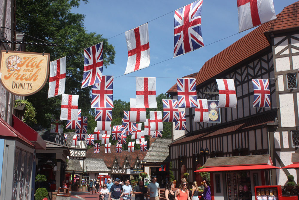 Banbury Cross England at Busch Gardens Williamsburg