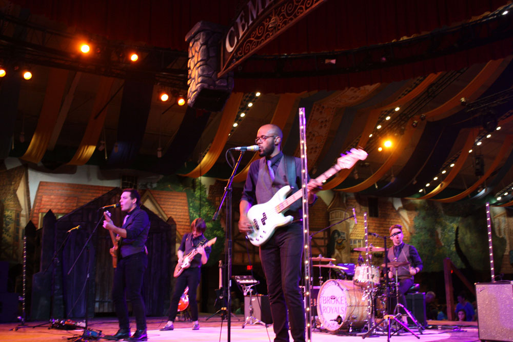Broke Royals Performing at Bier Fest Busch Gardens Williamsburg