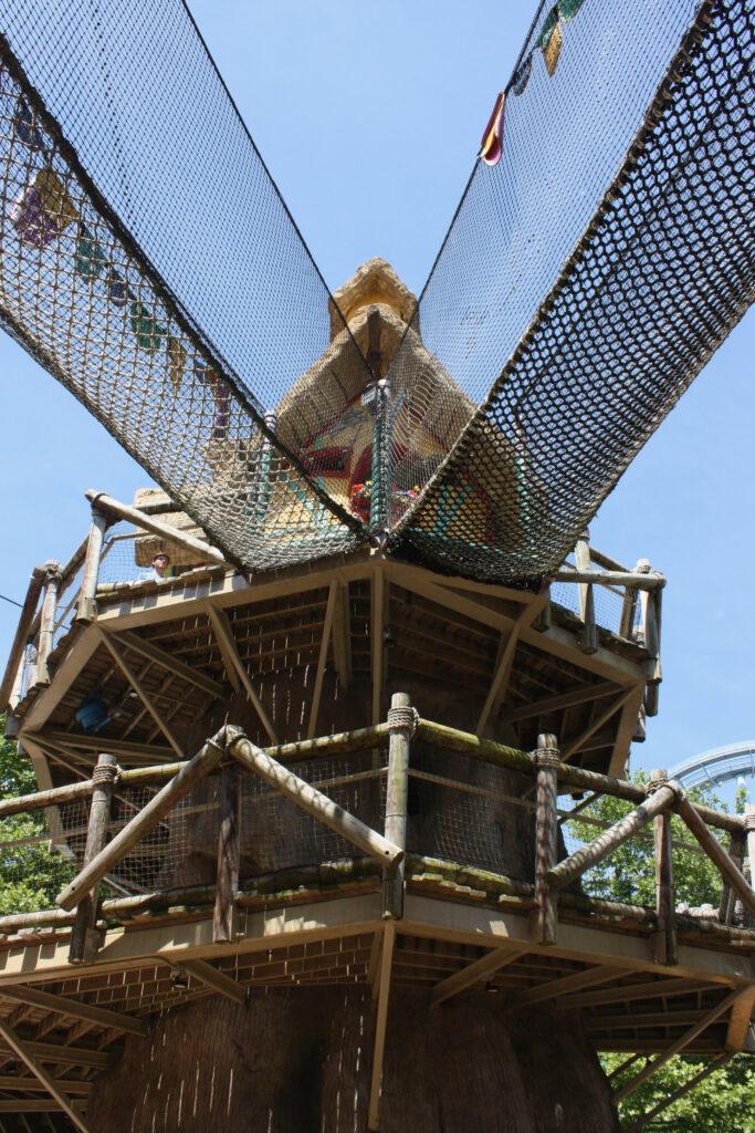 Climbing Tower Dragon Land Busch Gardens Williamsburg