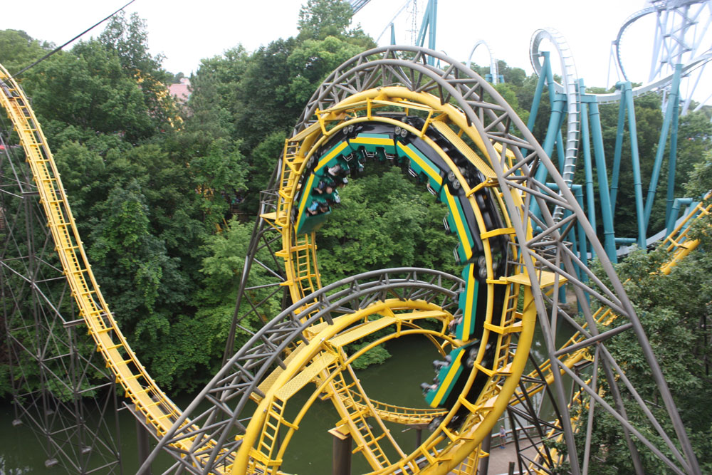 Loch Ness Monster Roller Coaster at Busch Gardens Williamsburg