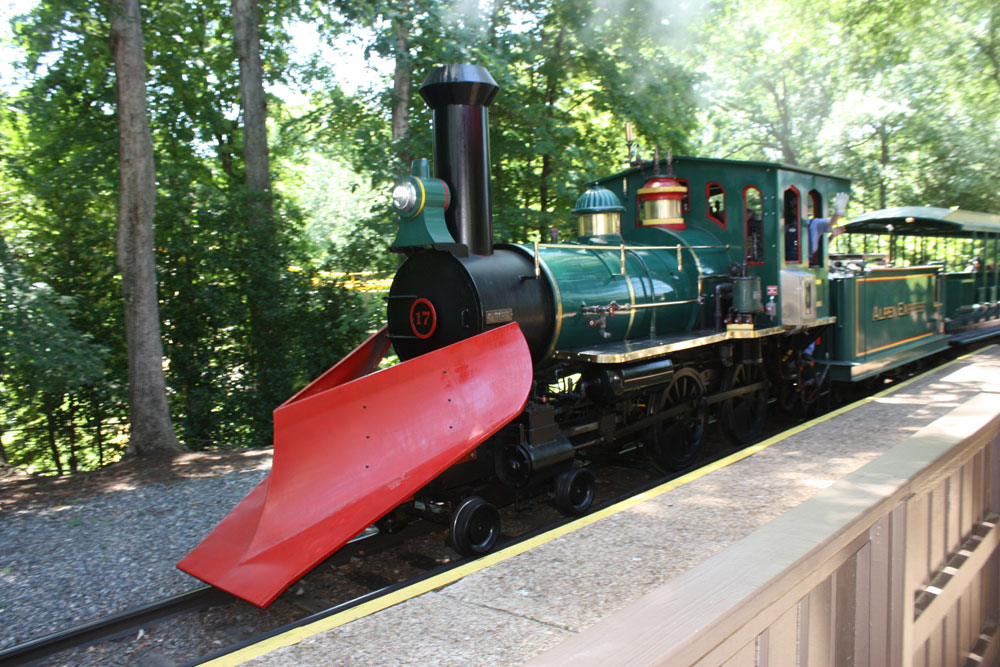 All Aboard! Ride One of the Steam Trains at Busch Gardens Williamsburg