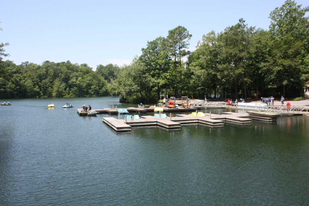 Rental Boat Dock At Waller Mill Park Pond