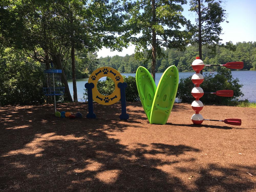 Waller Mill Park LOVE Sign Williamsburg VA Attraction
