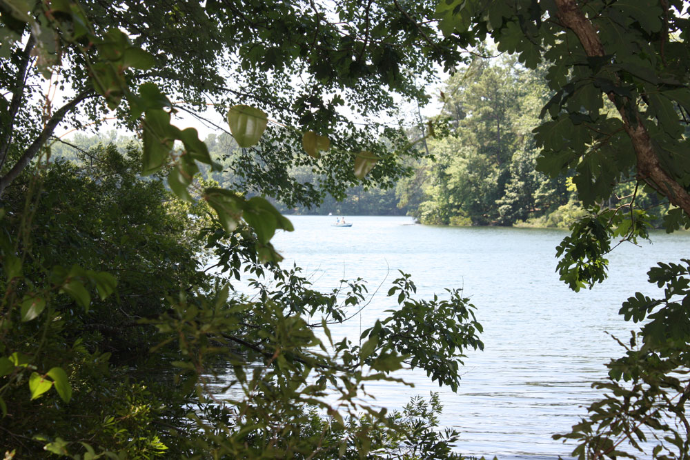 Waller Mill Park Fishing Boat