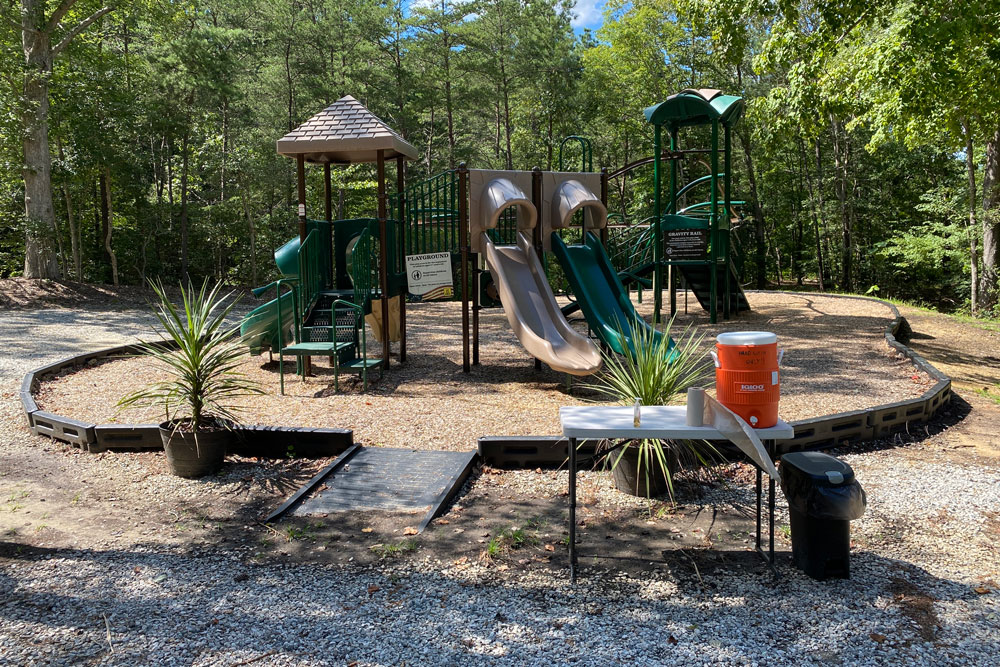 Williamsburg KOA Playground Hand Sanitizer