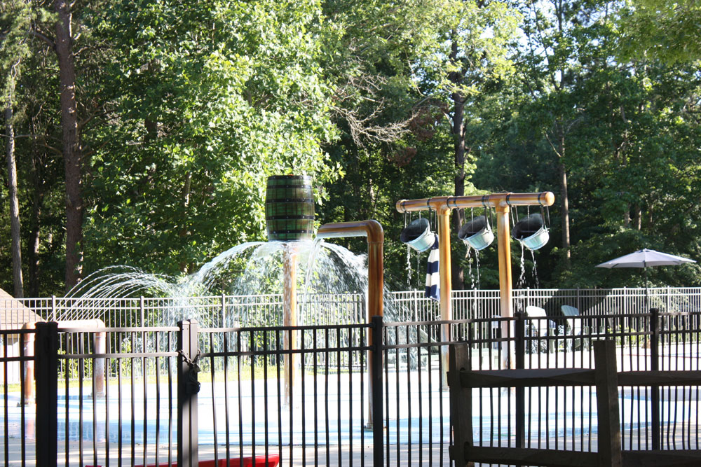 Splash Pad at KOA Williamsburg
