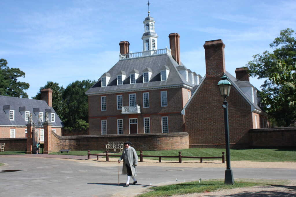 Colonial Williamsburg VA Governors Palace Williamsburg VA Area Attraction Williamsburg VA Attraction