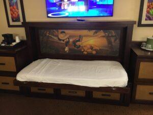 Disney's Caribbean Beach Resort Pull Down Bed