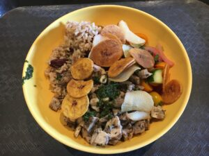 Chicken Rice Bowl Disney's Caribbean Beach Resort