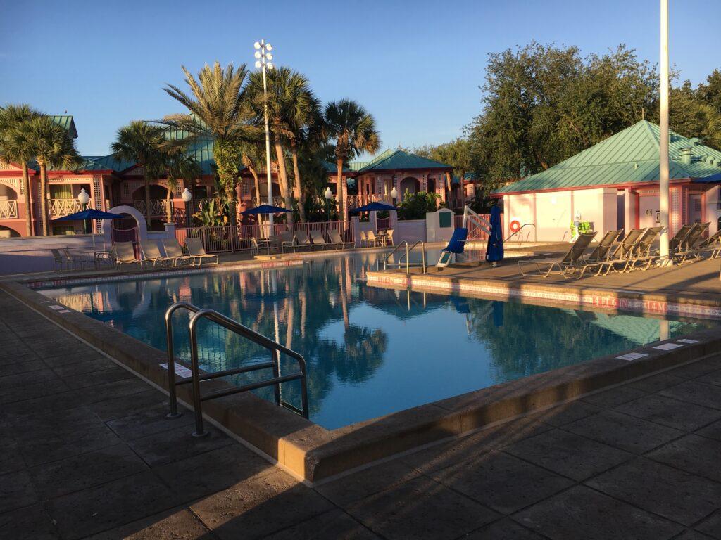 Aruba Area Pool Disney's Caribbean Beach Resort