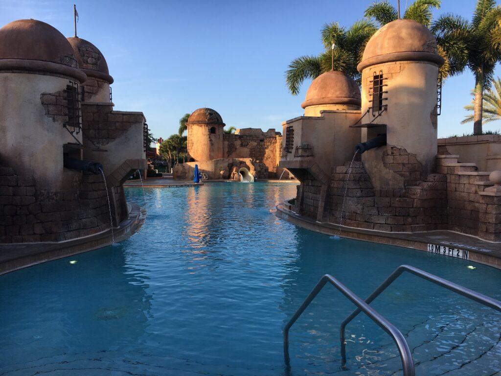 Fuentes del Morro Pool Disney's Caribbean Beach Resort